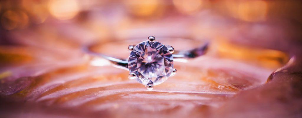 prezent dla kobiety - diament
