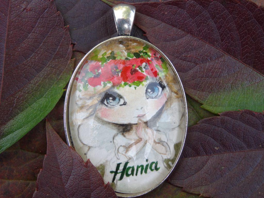 malowana biżuteria dla Hani