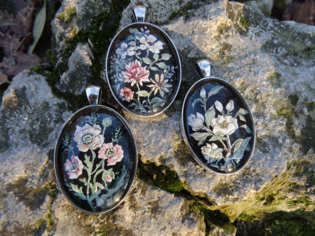 malowana biżuteria