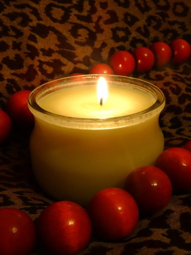 świeca do masażu - afrodyzjak